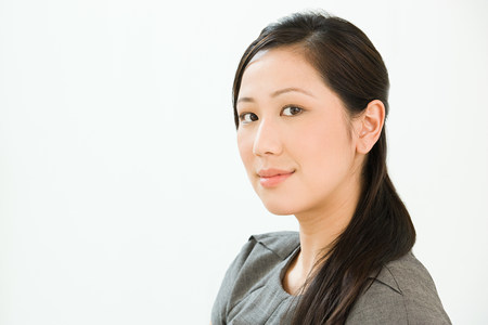 satisfy: Portrait of a Chinese business woman