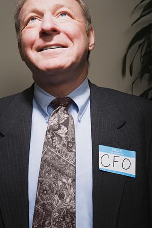 achieving: Mature businessman achieving success