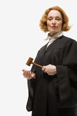 Portrait of a female judge