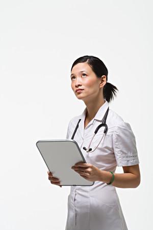 Portrait of a nurse Фото со стока - 102144713