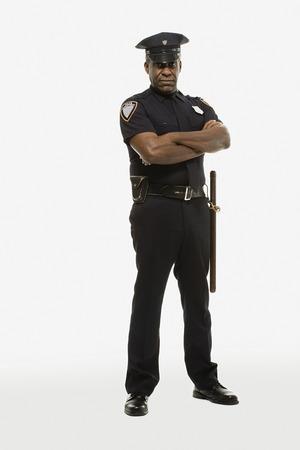 Portrait of a police officer Фото со стока - 93315122