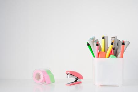 office stapler: Stationery