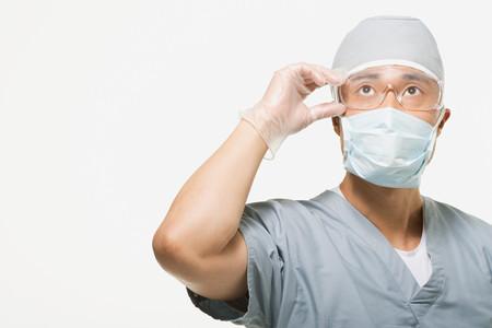 Portrait of a surgeon Фото со стока
