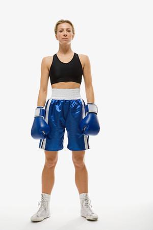 Female boxer Фото со стока - 99860645
