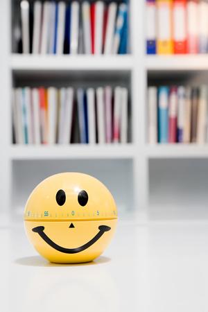 smiley: Smiley face egg timer