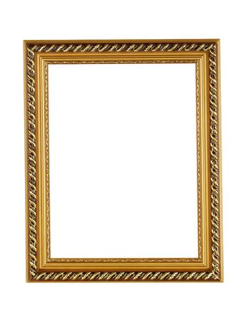 Gold picture frame Stock Photo - 5155200