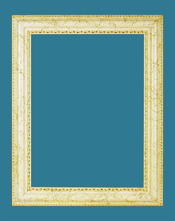 Gold picture frame Stock Photo - 5187322