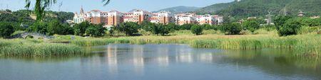 Beautiful villa district??Is located in Fujian, China photo