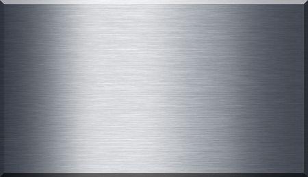 Dettagli sulla trama di metallo spazzolato brillante.