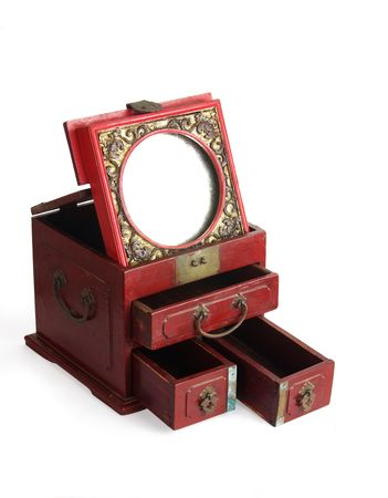 lacquerware: Classical Chinese Furniture,The bronze mirror cabinet