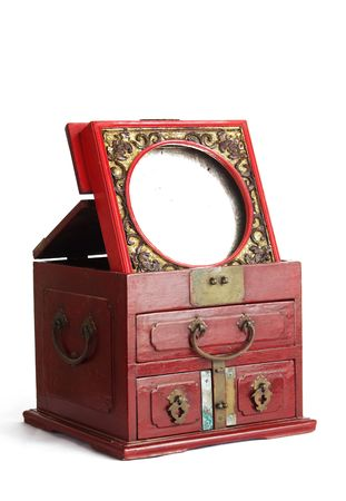 lacquerware: Classical Chinese Furniture��The bronze mirror cabinet
