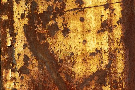 Seamless Rust Texture as Rusted Metal Background  Stock Photo - 6659890
