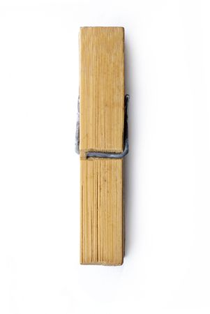 clothespin: clothespin on a white background