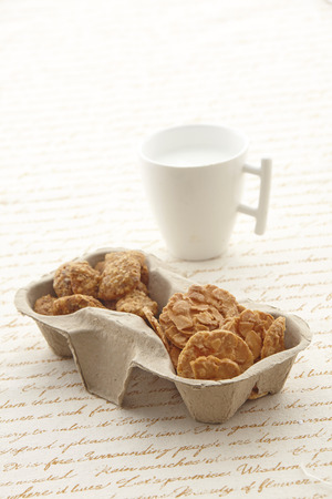 afternoon tea: Afternoon tea biscuits Stock Photo