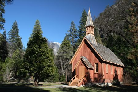 A chapel in Yosemite National Park