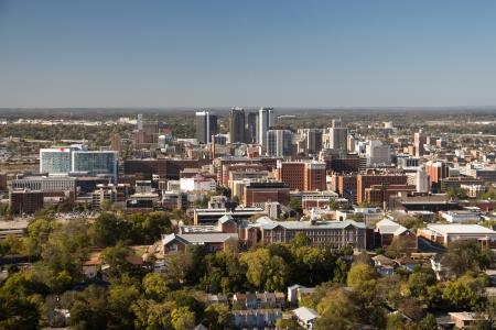 A view of downtown Birmingham, Alabama Stock Photo
