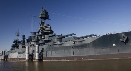 The historic battleship, USS Texas