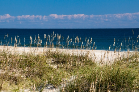 A view of an Outer Banks beach Stock Photo