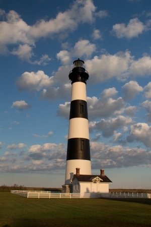 A view of the Bodie Island Light