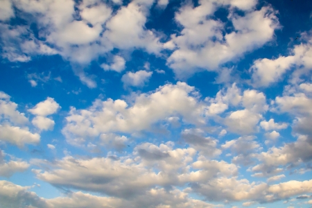 Blue sky with white clouds Stock Photo - 23691800