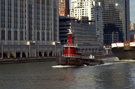 tugboat: Tugboat in Manhattan
