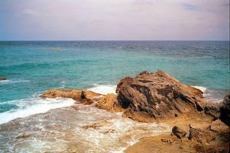 mujeres: Surf and Sea at Isla Mujeres Mexico