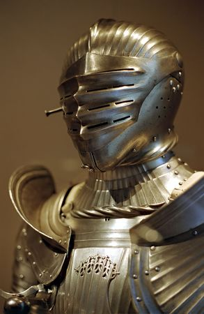 chivalry: Golden Medieval German Knights Suit of Armor