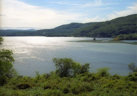 View of Hudson River from Fort Ticonderoga, NY