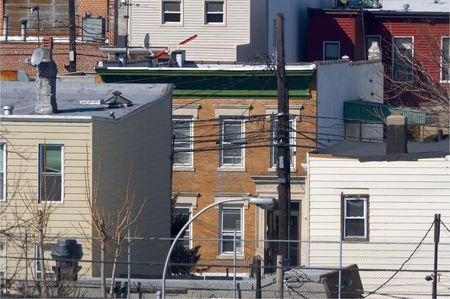 퀸즈, 뉴욕의 혼잡 한 도시 생활 여건
