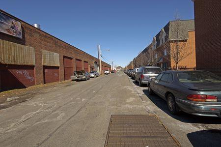 Typical Street scene in Queens Stok Fotoğraf - 813996