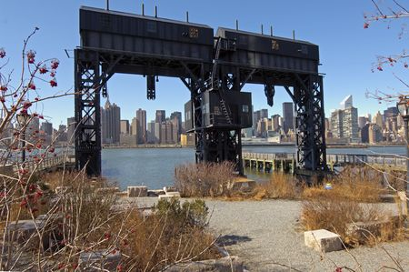 The Old Gateway to Long Island at the Queens Docks