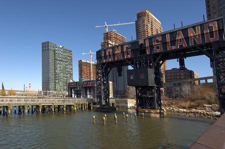 run down: Old Run Down Long Island Ferry Port