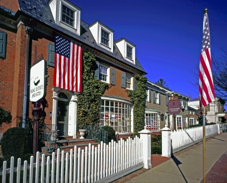 A Typical Small Town in the Northeast USA