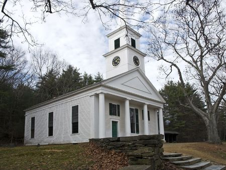 congregate: A very old Church in New England