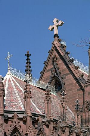 garden city: Iglesia Vieja en el Espacio Europeo de Estilo en Garden City, Nueva York