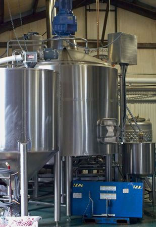 vats: Vats In A Long Island Micro Brewery 0609