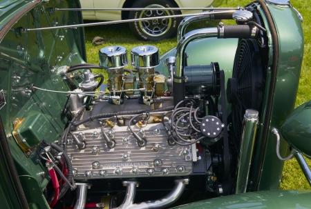 A Highly Modified Custom Hot Rod Motor
