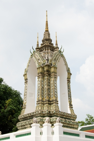 Thai Style Belfry at Wat Pho Stock Photo