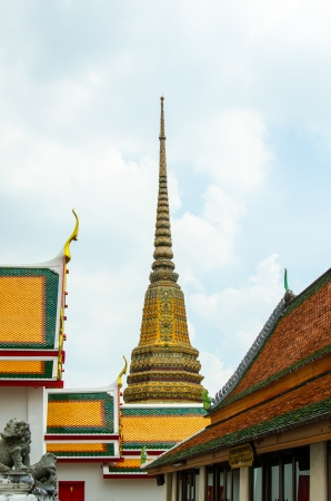 Wat Pho Stock Photo