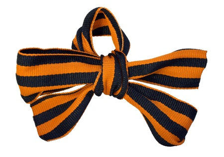 George Ribbon tied bow-knot  photo