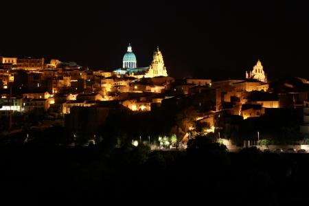 ragusa: Ragusa Ibla Night
