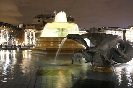 Trafalgar square - London photo
