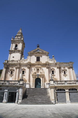 patron of europe: Cathedral of San Giovanni Battista in Ragusa