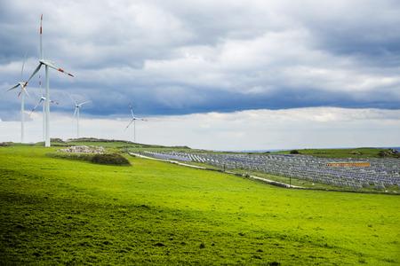 ragusa: Wind turbines and photovoltaic Ragusa in Mountain