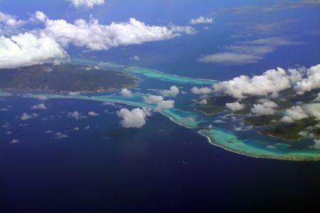 Raiatea and Tahaa island, French Polynesia Stock Photo - 531738