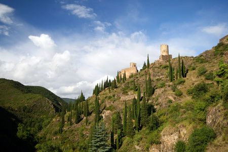 two castle landscape photo