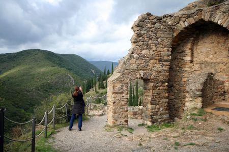 castle tourist visit photo