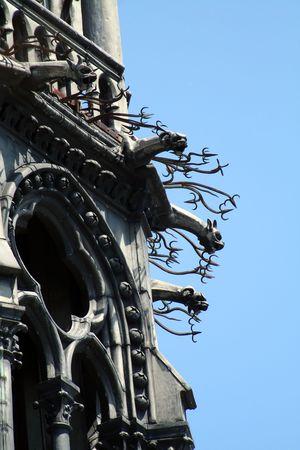 gargouilles: gargouilles agressif t�te, Paris