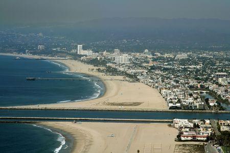 marina del rey beach in Los Angeles