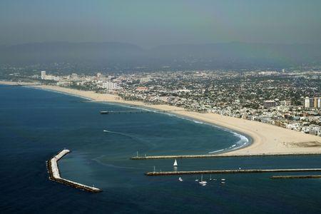 Marina del rey jetty, Los Angeles